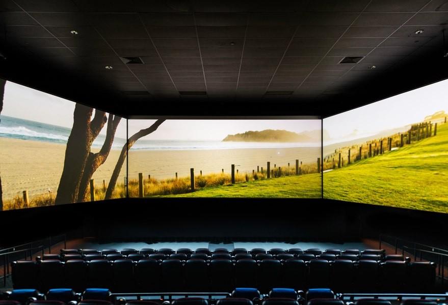 Laser cinema projectors