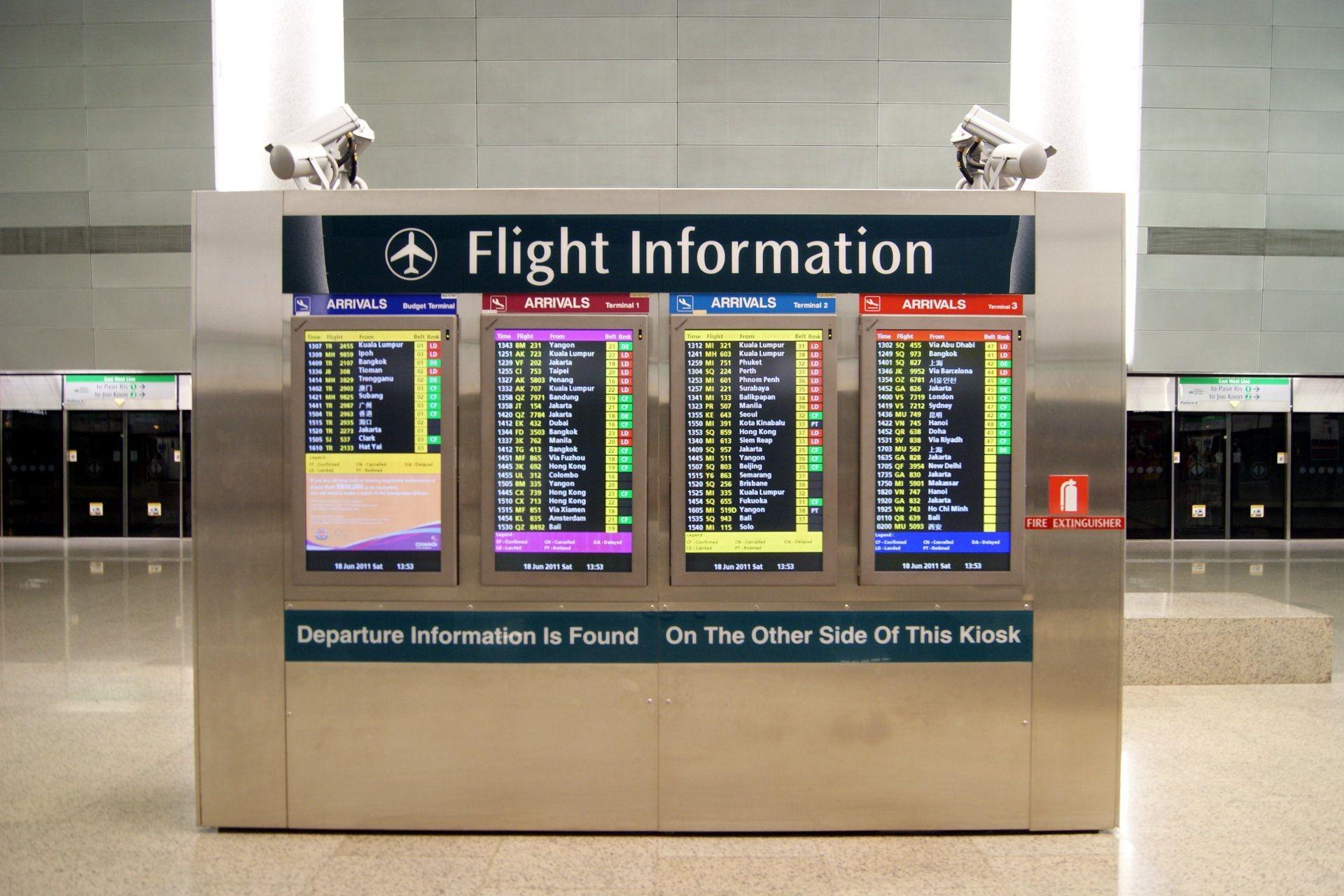 Hệ thống hiển thị thông tin bay