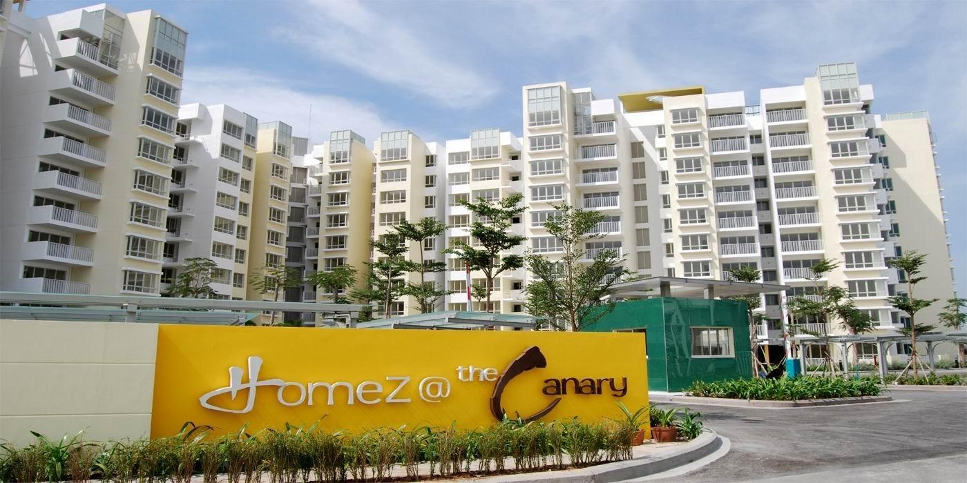 Khu căn hộ the Canary