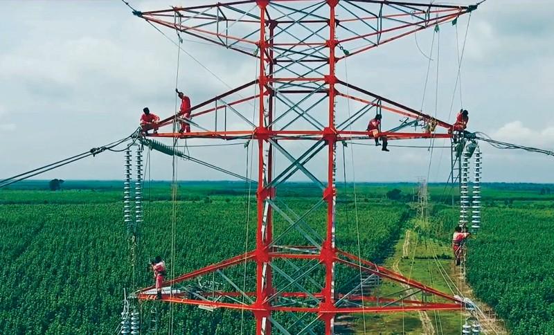 Hệ thống đường dây tải điện tại tỉnh Kratie, Cam-pu-chia