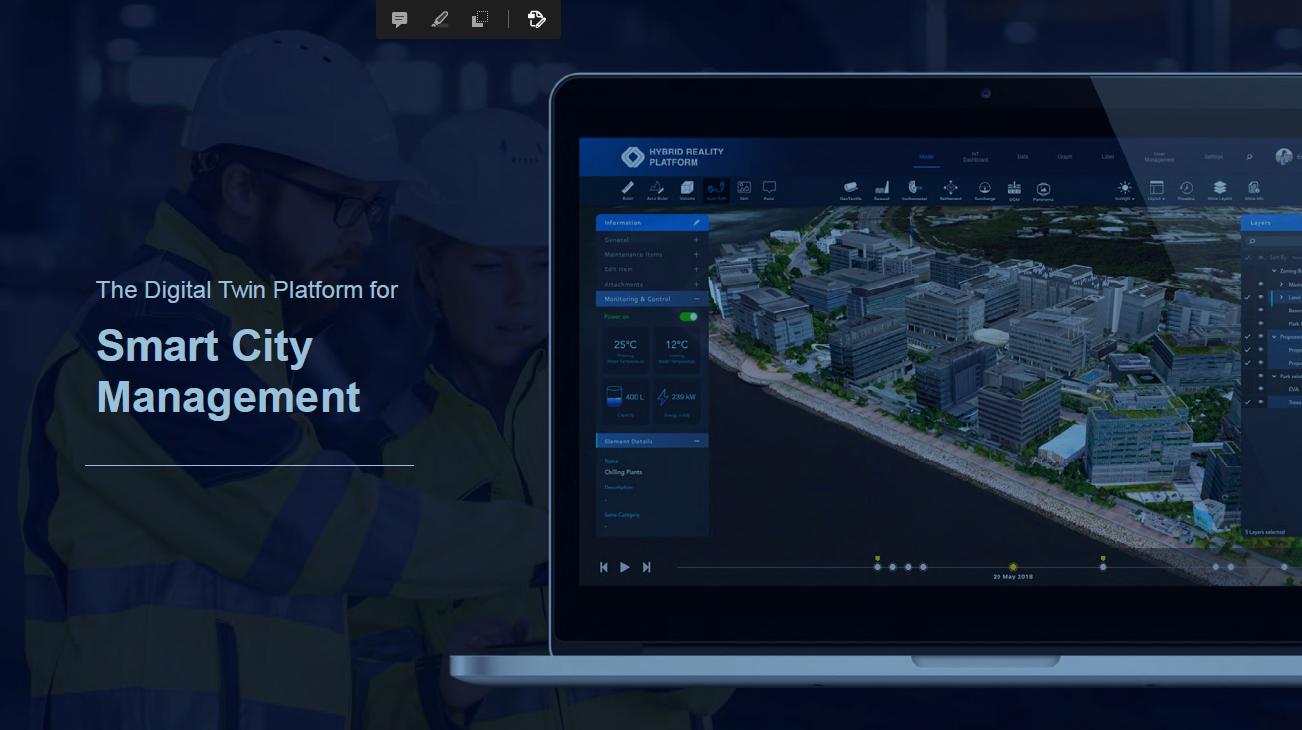 VISCO - DIGITAL TWIN Smart City Planning Solution