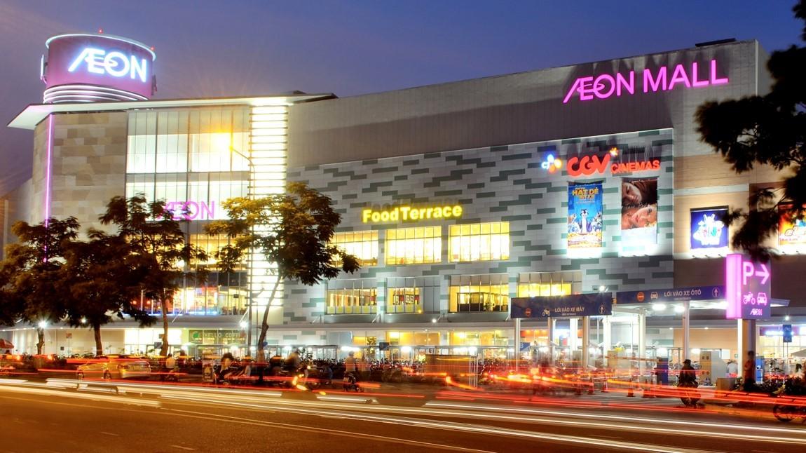 Trung tâm thương mại AEON MALL Tân Phú Celadon
