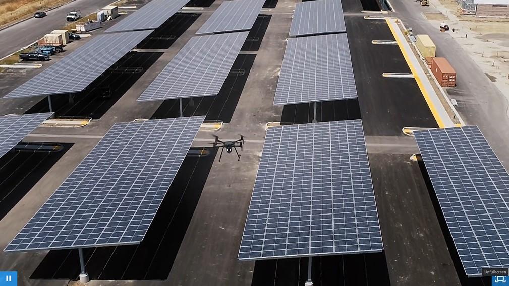 Drone (Flycam) Solar Inspection