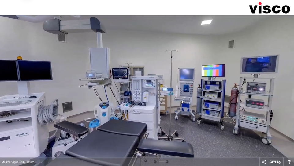 Hospital Introduction in VR360